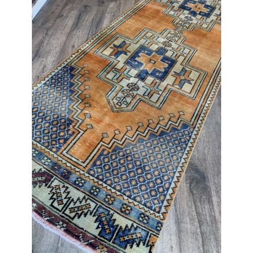 """32"""" X 8' 10"""" Boho Room Hallway Vintage Handmade Turkish Rug Runner"""