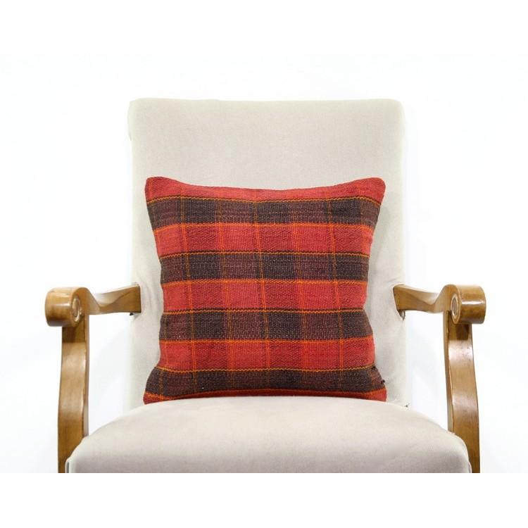 Ethnic Burlap Pillow Cover Kilim Rug Vintage Outdoor Throw Pillowcase 16